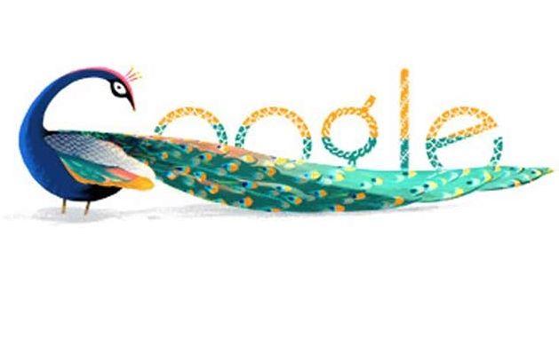 Google Doodles Independence Day 2012