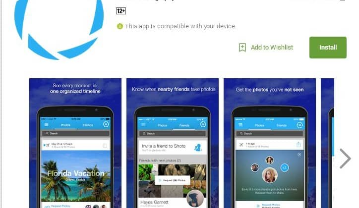 Shoto, a private photo sharing mobile app acts like a
