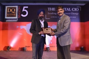 Swaranjeet Singh of Jagran Prakashan Ltd received award for 'Mobility'