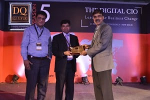 Sachin Jain, CIO, Evalueserve received awards for 'Storage'