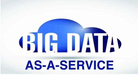Big data-as-a-service