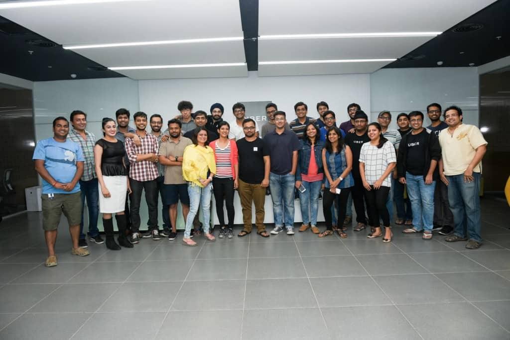 Uber India Engineering Team in Bangalore