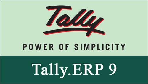 tally.erp 9 release 6.3