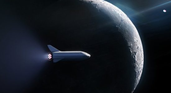 SpaceX Mission to Moon