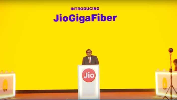Jio GigaFiber launch and Jio DTH could happen in August