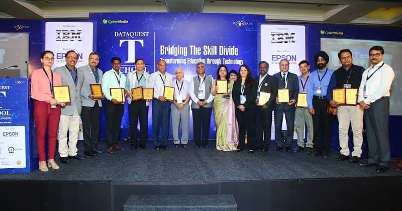 T-Schools Award winners