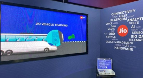 Reliance Jio at Auto Expo 2020
