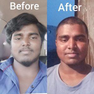 Uber driver Srikanth