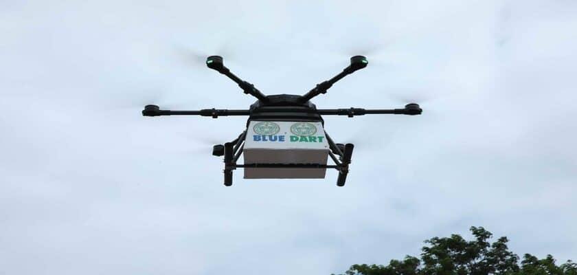 Vaccine drone delivery